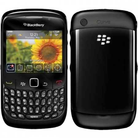 BlackBerry Curve 8520 zwart