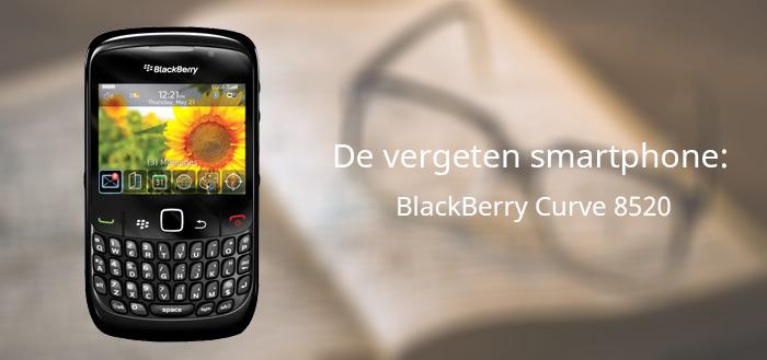 De vergeten smartphone: BlackBerry Curve 8520