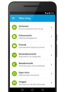 Ditzo app