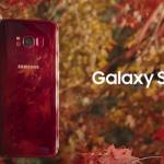 Samsung Galaxy S8 komt in kleur 'Burgundy Red' en ziet er erg strak uit