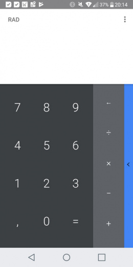 Google Calculator 7.4