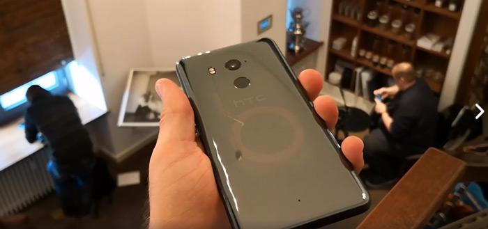 Teaser: HTC U11 Plus krijgt knijpbare randen en doorzichtige behuizing