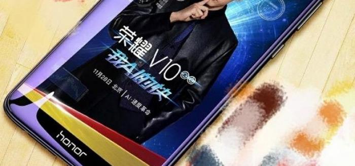 Honor V10 met strak design laat zich nog beter zien