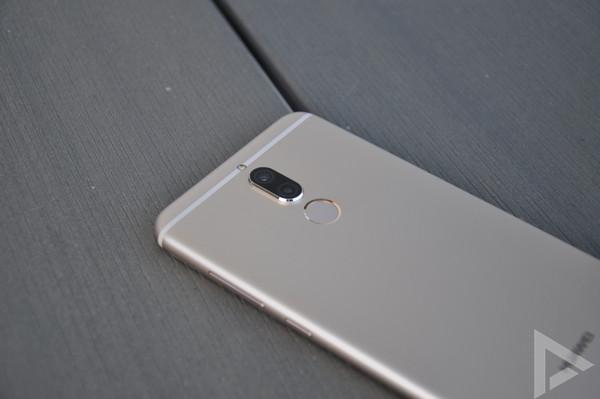 Huawei Mate 10 Lite vingerafdrukscanner