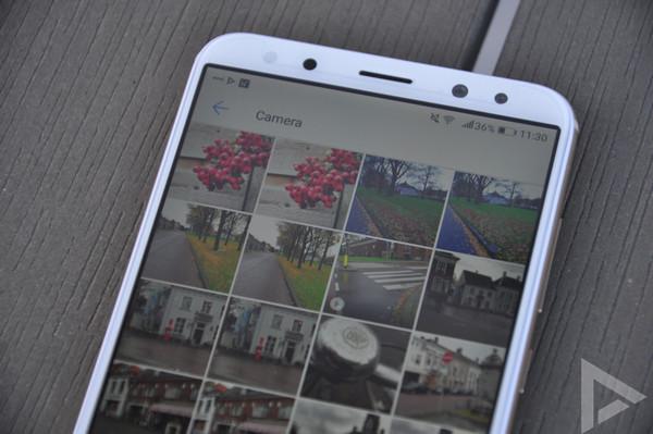 Huawei Mate 10 Lite galerij