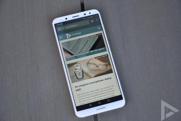 Huawei Mate 10 Lite internet