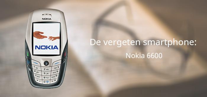 De vergeten smartphone: Nokia 6600