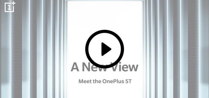 OnePlus 5T livestream: volg hier live de aankondiging