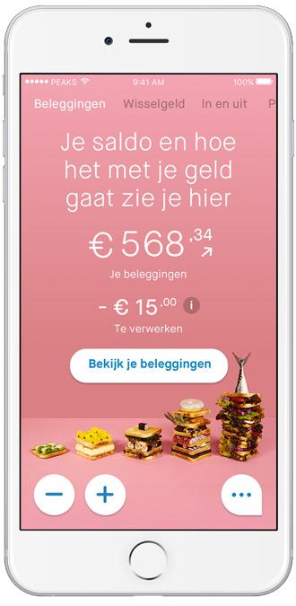 Peaks app rabobank