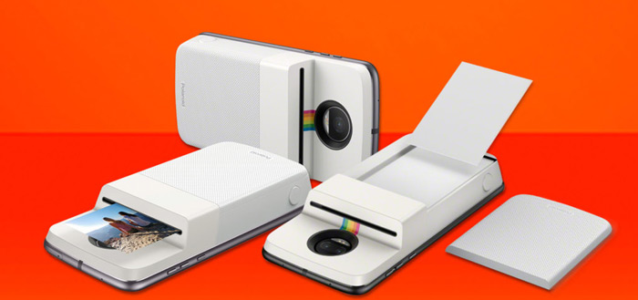 Motorola introduceert Moto Mod met Polaroid fotoprinter