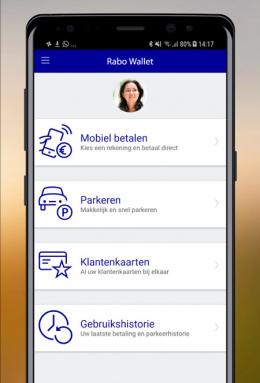 Rabo Wallet app