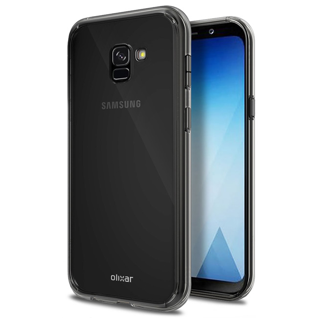 Samsung Galaxy A5 (2018) case render