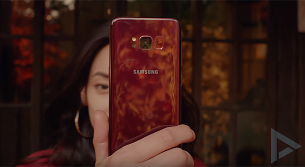 Samsung Galaxy S8 Burgundy Red