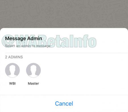 WhatsApp groep beheerders