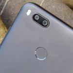 Xiaomi Mi A1 vingerafdrukscanner