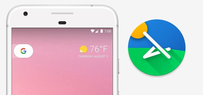 Lawnchair Launcher brengt alle Pixel features naar je smartphone