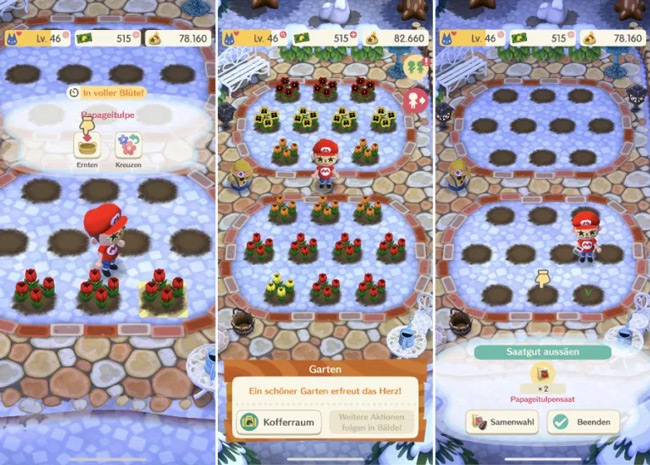 Animal Crossing Pocket Camp Garden