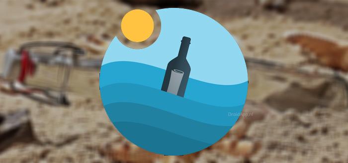 Bottled app: kom in contact met anderen via moderne flessenpost