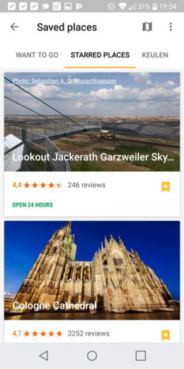 Google Trips 1.6