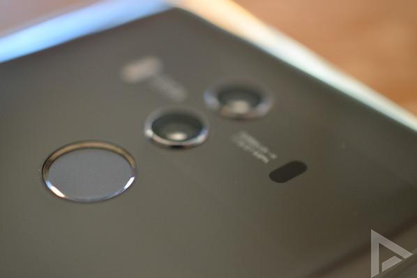 Huawei Mate 10 Pro vingerafdrukscanner