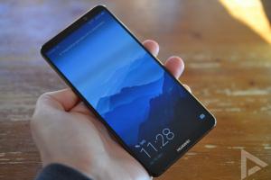 Huawei Mate 10 Pro lockscreen