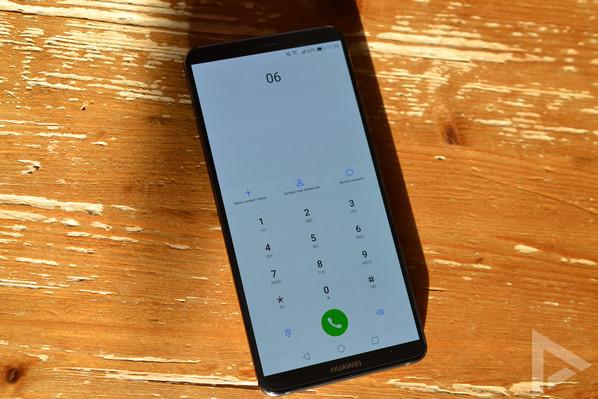 Huawei Mate 10 Pro dialer