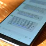 Huawei Mate 10 Pro sms