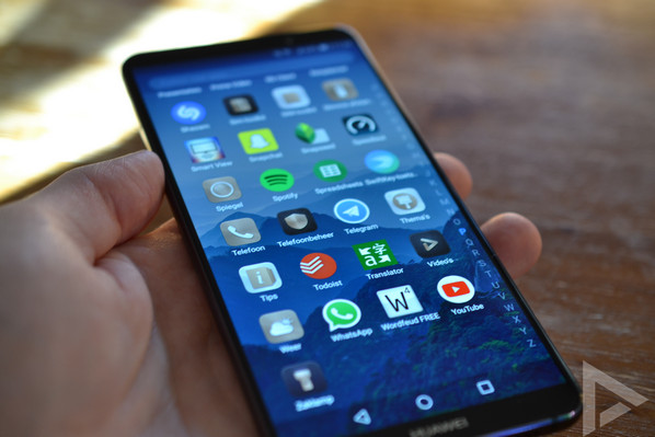 Huawei Mate 10 Pro menu