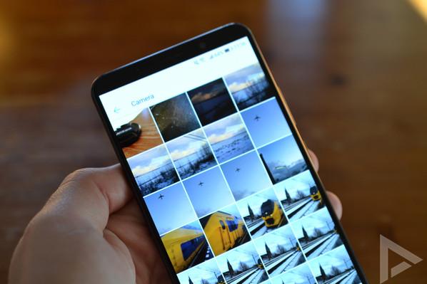 Huawei Mate 10 Pro galerij