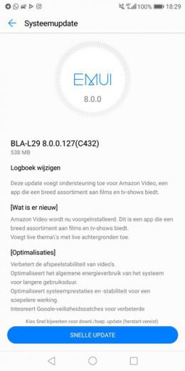 Huawei Mate 10 Pro C432 update