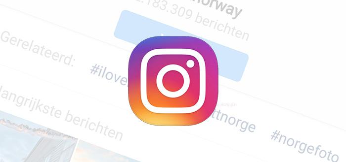 Instagram komt met onzichtbare hashtags en locatie-restricties Stories