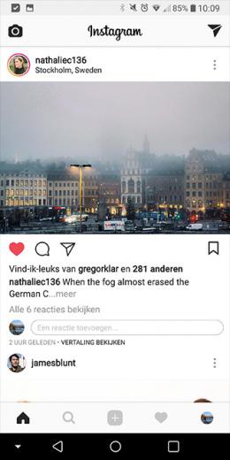 Instagram inline comments