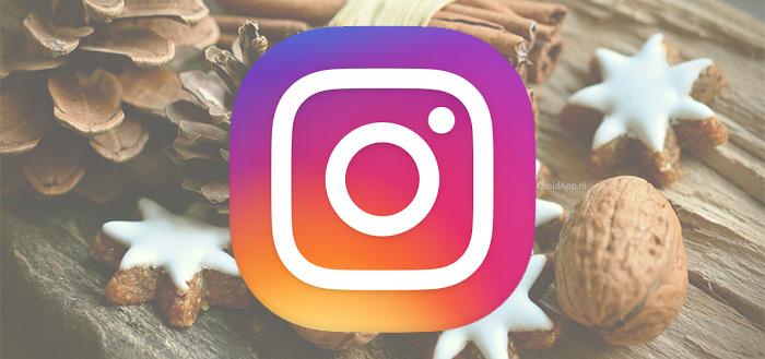 Instagram 26.0: creatieve tools voor kerst en nieuwe effecten voor Superzoom