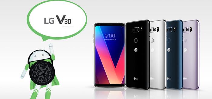 LG begint met updaten LG V30 naar Android 8.0 Oreo