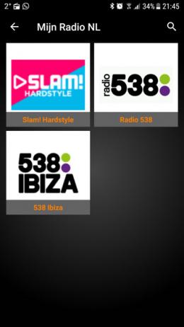 Mijn Radio NL app