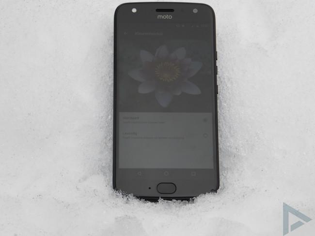 Moto X4 beeldscherm