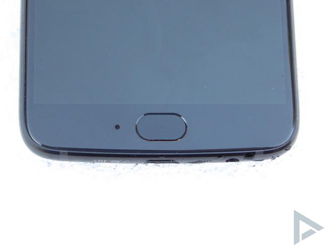 Moto X4 vingerafdrukscanner