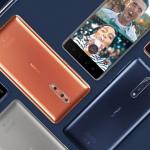 Nokia 2, 3, 5, 6 en 8 krijgen beveiligingsupdate februari 2018; Nokia 8 met Android 8.1