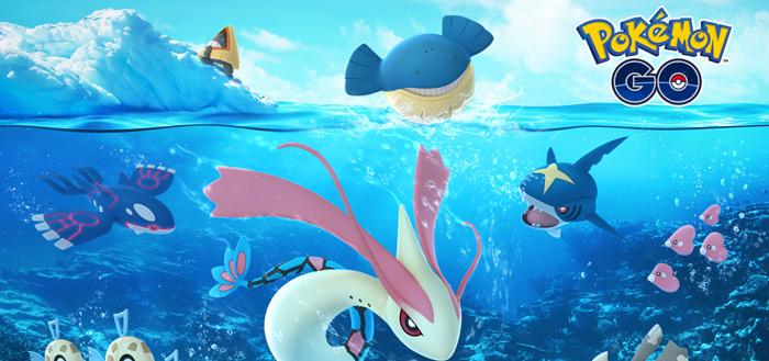 Pokémon Go Kerst Event 2017 van start: nieuwe IJs- en water-Pokémon