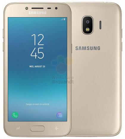 Samsung Galaxy J2 2018 goud