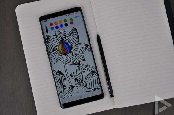 Samsung Galaxy Note 8 pen