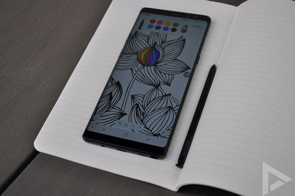 Samsung Galaxy Note 8 aanbieding