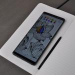 Samsung Galaxy Note 8 tekenen