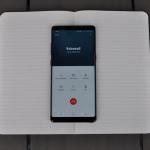 Samsung Galaxy Note 8 Bellen