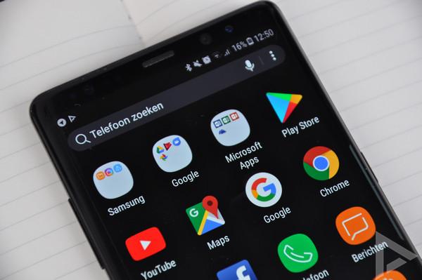 Samsung Galaxy Note 8 bloatware
