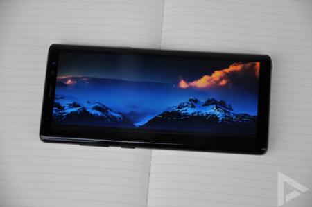 Samsung Galaxy Note 8 beveiligingsupdate juni 2018