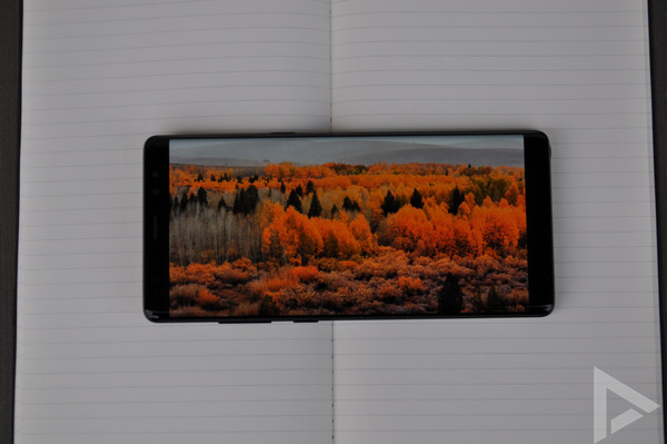 Samsung Galaxy Note 8 display