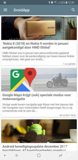 Samsung Galaxy Note 8 DroidApp App
