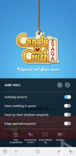Samsung Galaxy Note 8 Game tools