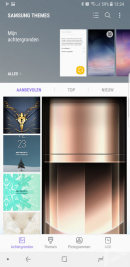 Samsung Galaxy Note 8 thema's